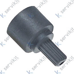 Adaptador mando valvula novasit diametro 10x8mm longitud 18mm